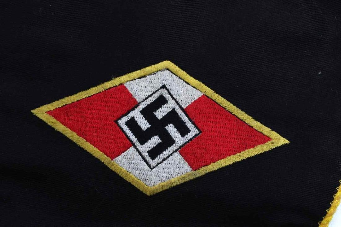 WWII GERMAN THIRD REICH HITLER YOUTH PENNANT FLAG - 3
