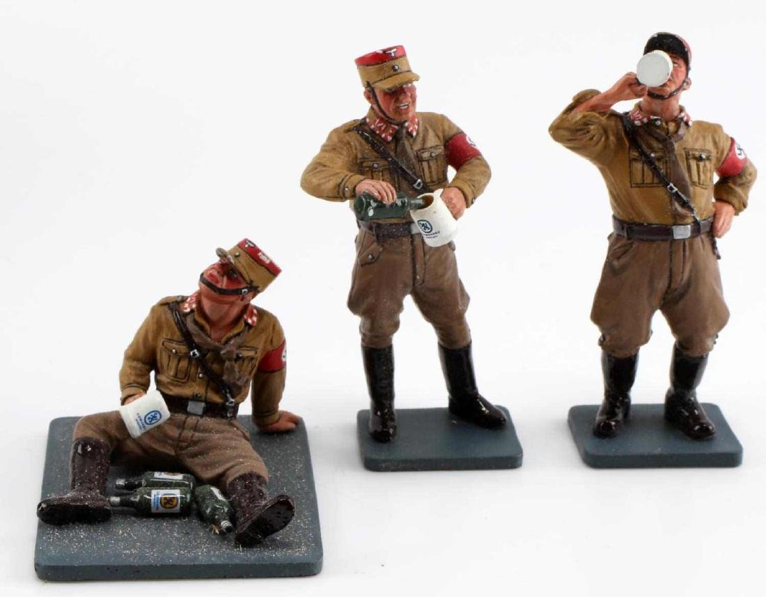 WWII GERMAN SA KING AND COUNTRY TOY SOLDIER LOT - 3