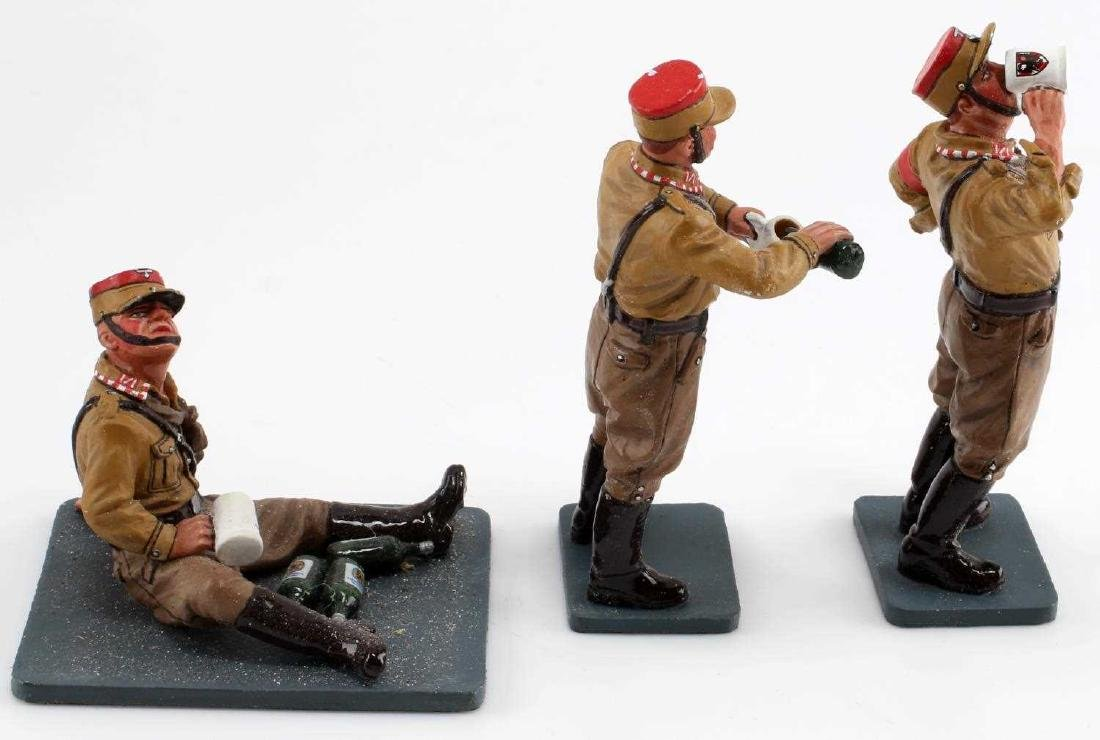 WWII GERMAN SA KING AND COUNTRY TOY SOLDIER LOT - 4