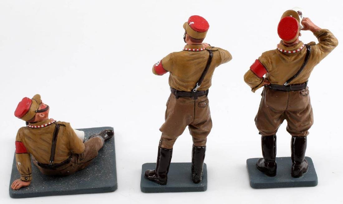 WWII GERMAN SA KING AND COUNTRY TOY SOLDIER LOT - 5