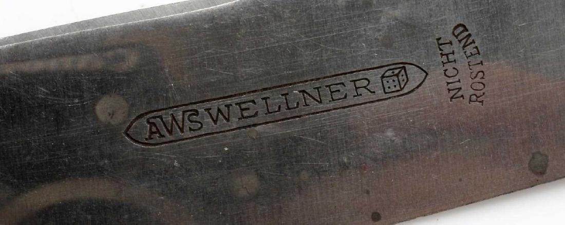 ADOLF HITLER THIRD REICH SILVERWARE WELLNER WWII - 4