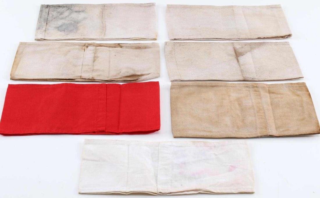 WWII GERMAN THIRD REICH NSDAP ARMBAND LOT OF 7 - 2