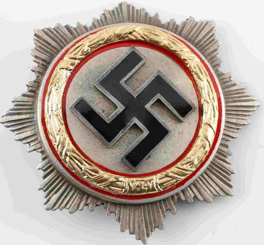 GERMAN WWII THIRD REICH GERMAN CROSS BADGE