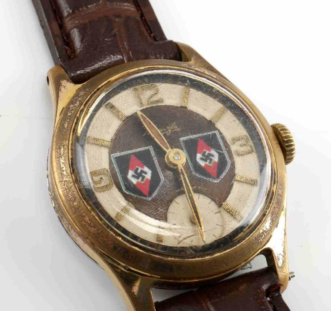 WWII GERMAN 3RD REICH WAFFEN SS DIVISION WATCH LOT - 6