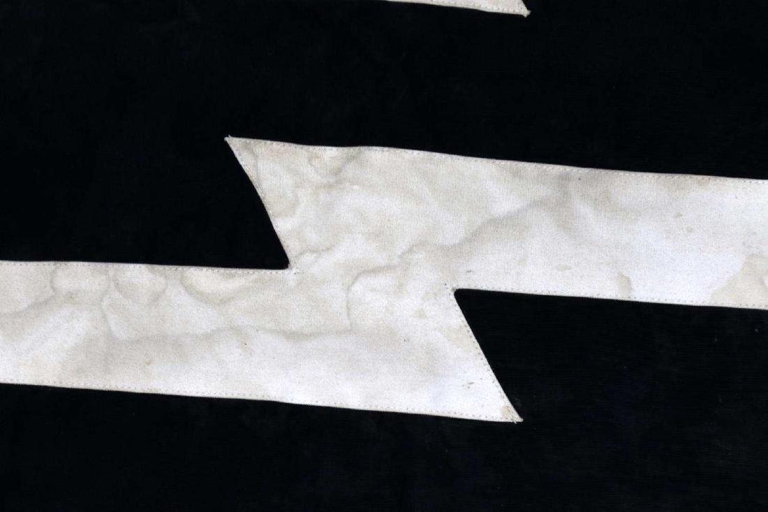 WWII GERMAN WAFFEN SS MILITARY VEHICLE ID FLAG - 2
