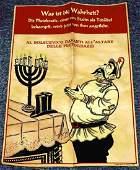WWII GERMAN THIRD REICH ANTI SEMITIC STALIN POSTER