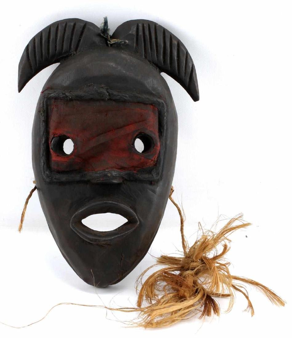 AFRICAN DAN CARVED WOODEN MASK LIBERIA