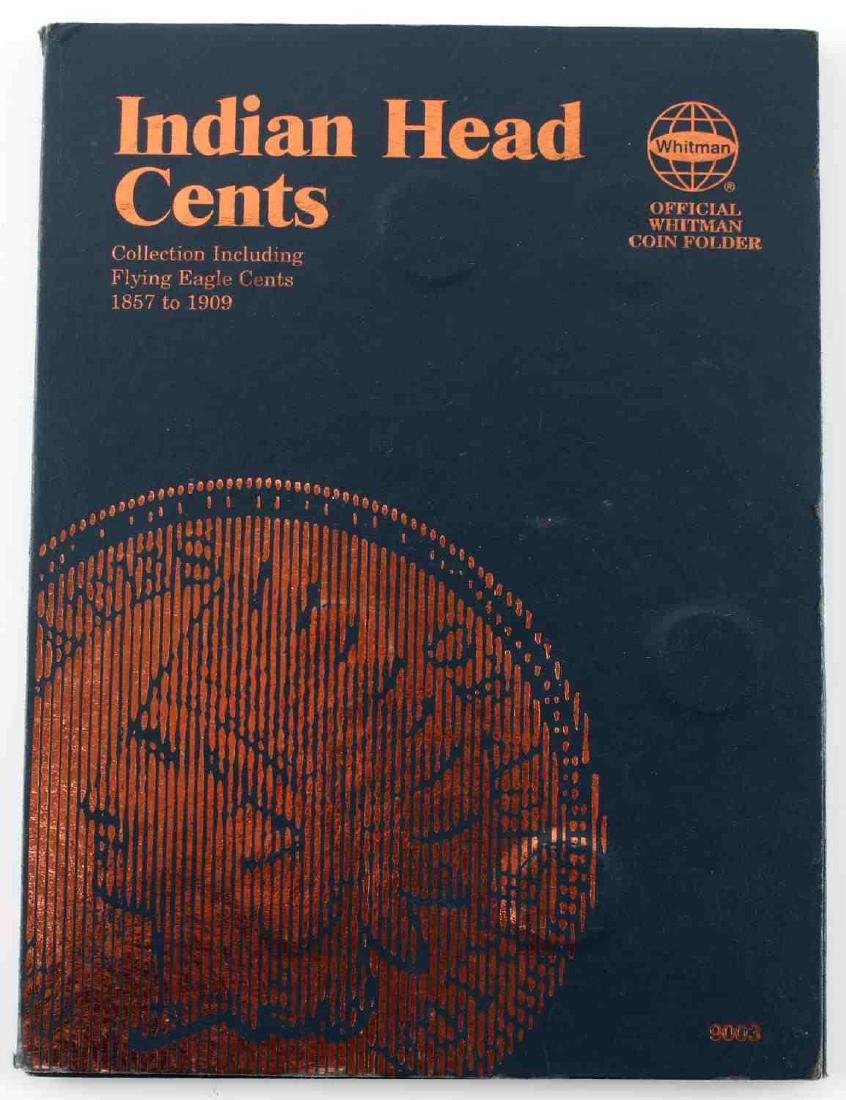 WHITMAN INDIAN HEAD CENT 1857 1909 NEAR COMPLETE - 4