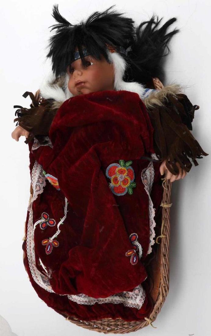 VINTAGE NATIVE AMERICAN CATHAY COLLECTION DOLL