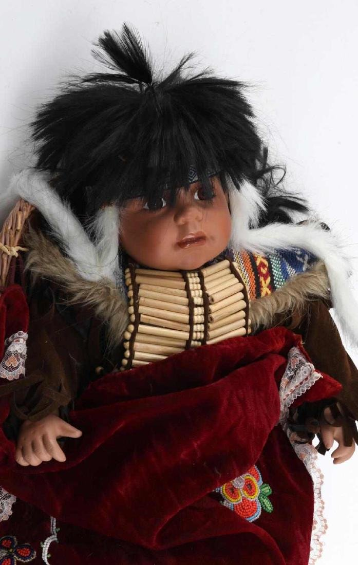 VINTAGE NATIVE AMERICAN CATHAY COLLECTION DOLL - 2