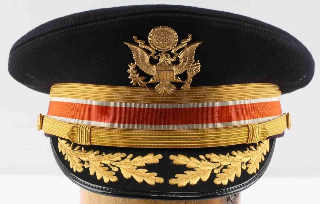 US ARMY MILITARY ISSUE KOREAN WAR ERA OFFICER CAP