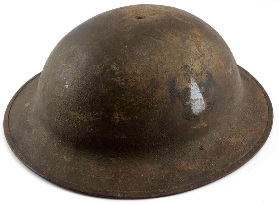 US ARMY WWI AMERICAN DOUGHBOY HELMET LOT - 6