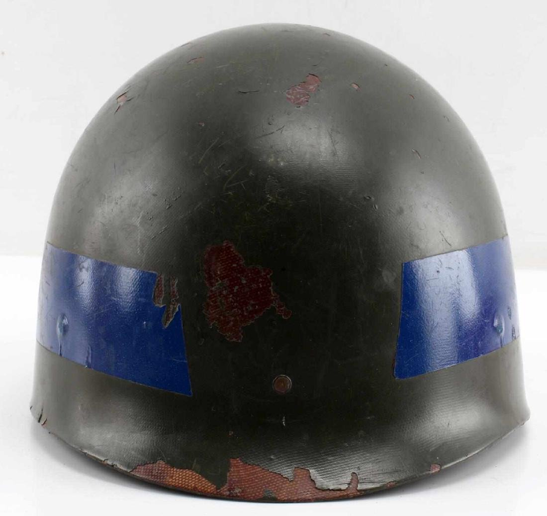 A5 DECORATED WWI DOUGHBOY HELMET SHELL DEFENSE