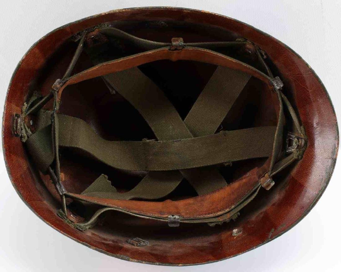 A5 DECORATED WWI DOUGHBOY HELMET SHELL DEFENSE - 5