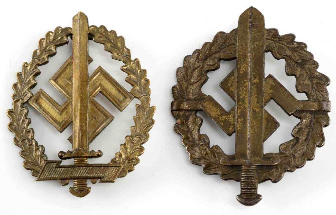 WWII GERMAN THIRD REICH SA SPORTS BADGE LOT OF 2