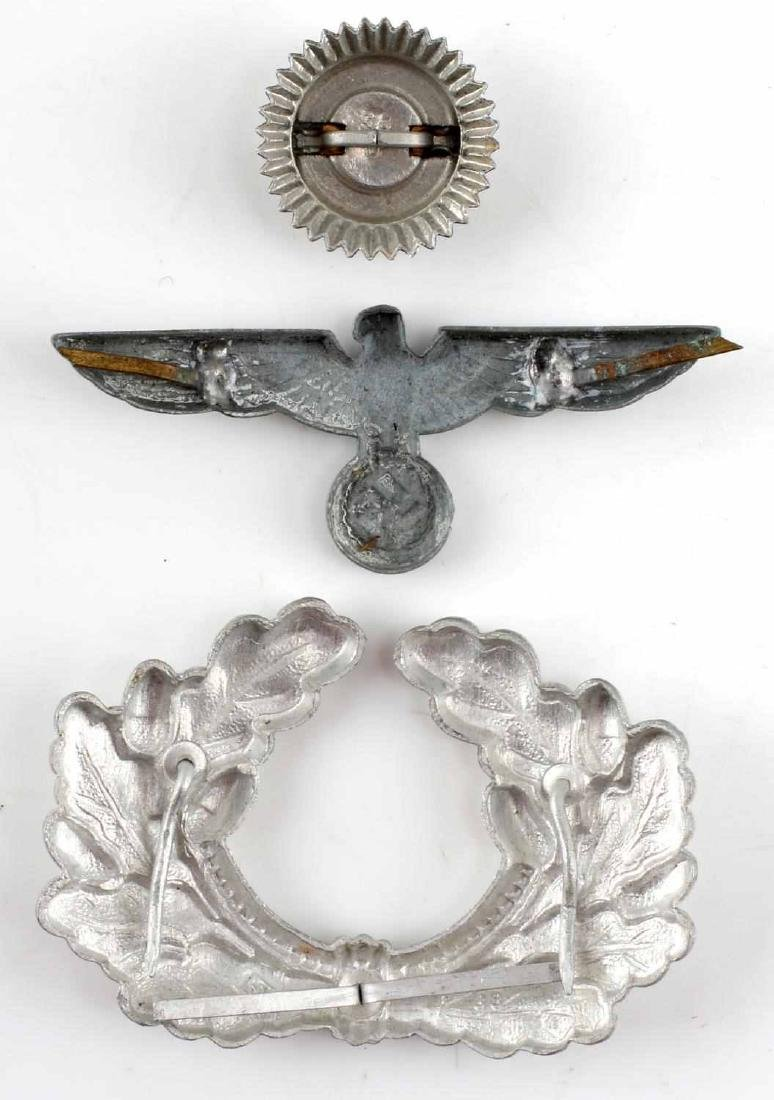 GERMAN WWII THIRD REICH VISOR BADGE LOT - 2