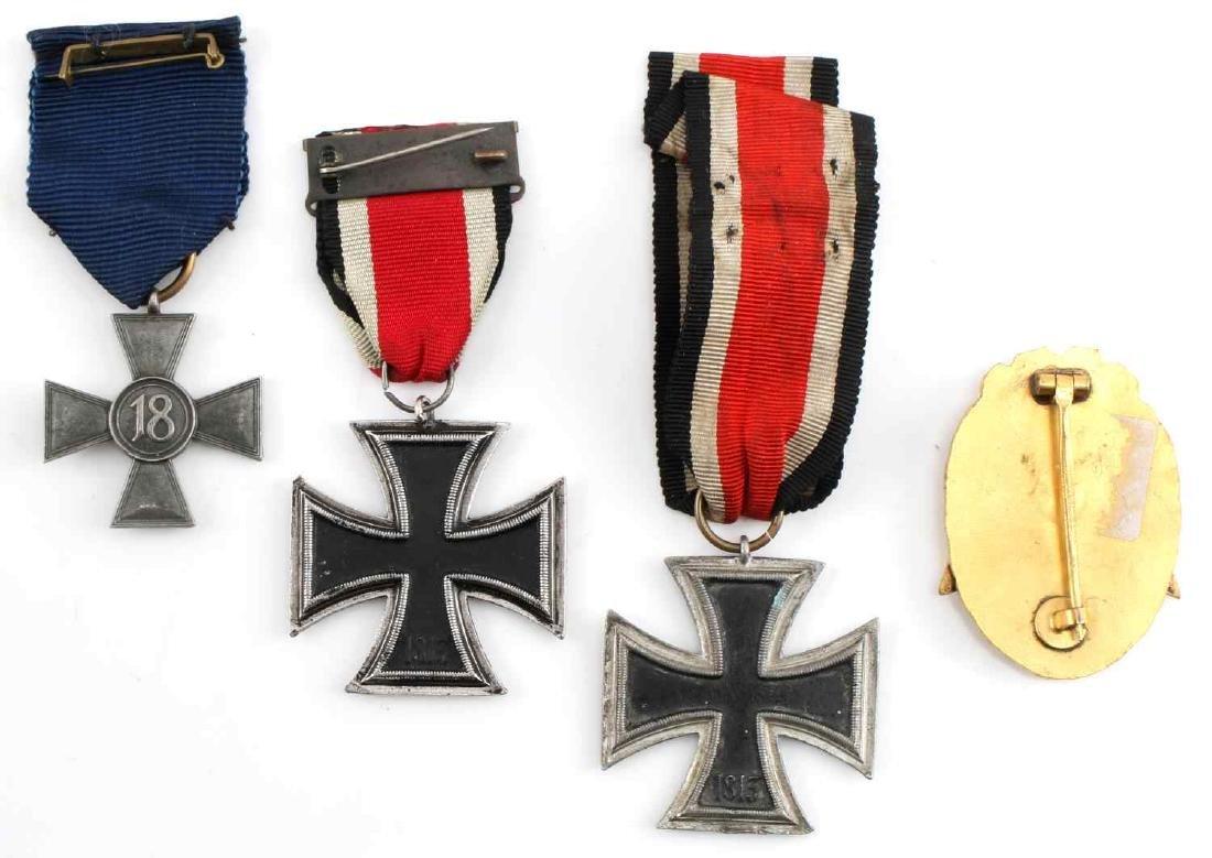 WWII GERMAN THIRD REICH REENACTORS MEDAL LOT OF 4 - 2