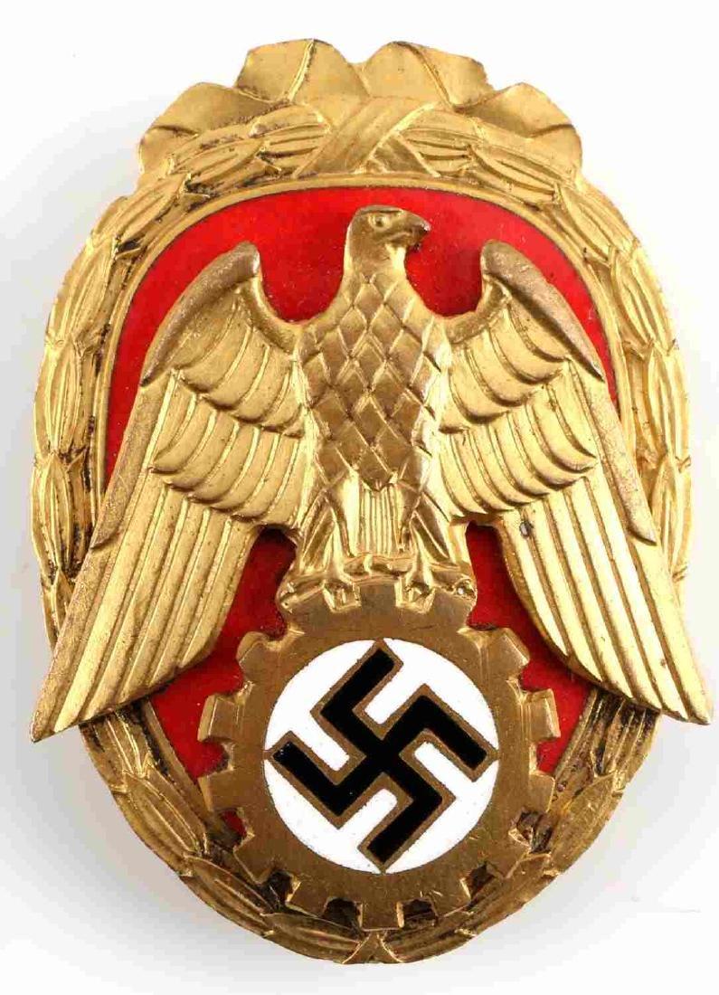 WWII GERMAN THIRD REICH REENACTORS MEDAL LOT OF 4 - 5
