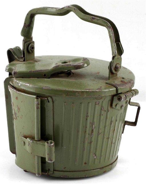 WWII GERMAN THIRD REICH MG42 MACHINE GUN DRUM