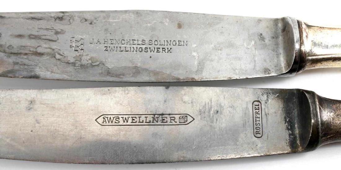 WWII GERMAN ADOLF HITLER MONOGRAM SILVERWARE LOT - 6