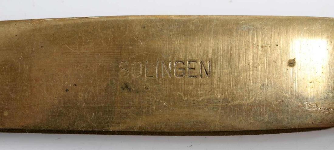 WWII GERMAN ADOLF HITLER MONOGRAM SILVERWARE LOT - 9