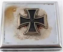 GERMAN WWII IRON CROSS WINNERS CIGARETTE CASE