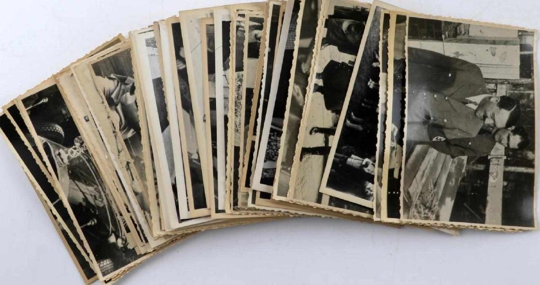 GERMAN WWII THIRD REICH ADOLPH HITLER PHOTO LOT