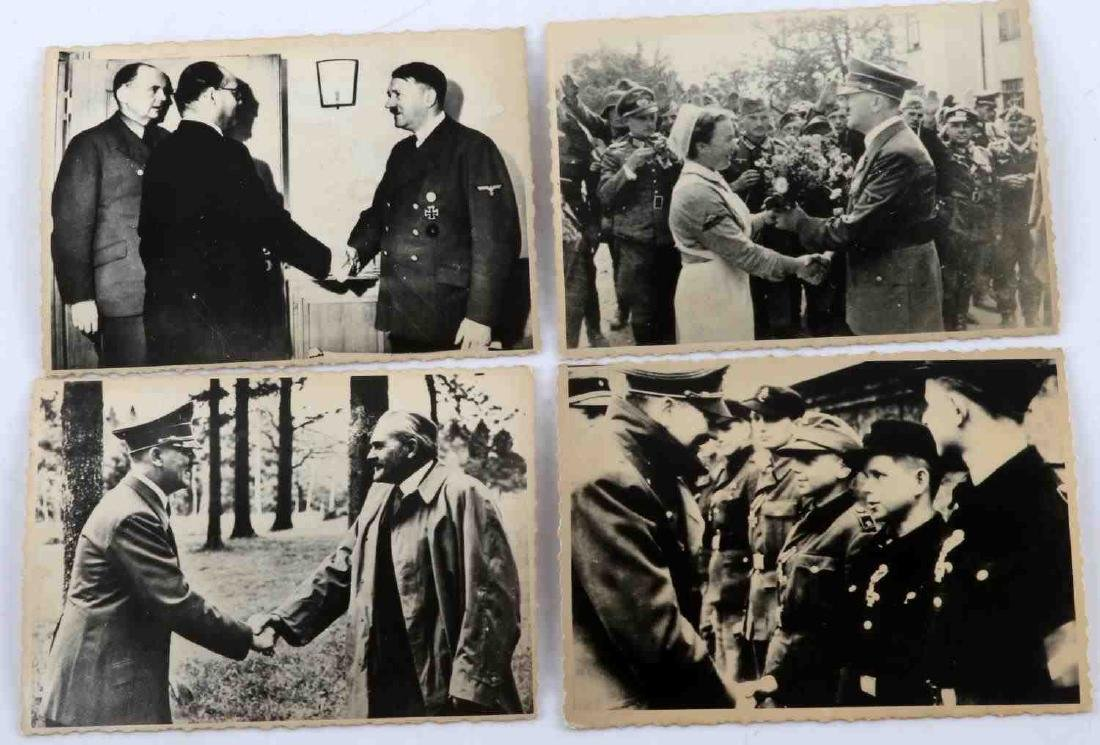 GERMAN WWII THIRD REICH ADOLPH HITLER PHOTO LOT - 3