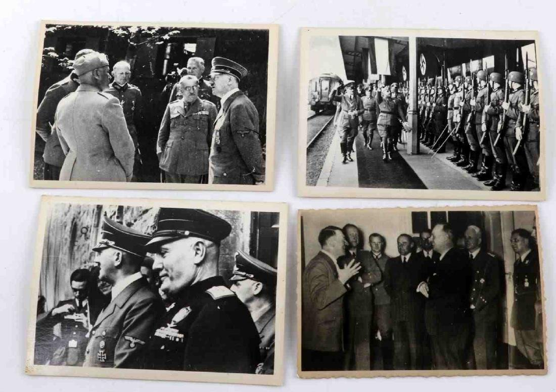 GERMAN WWII THIRD REICH ADOLPH HITLER PHOTO LOT - 5