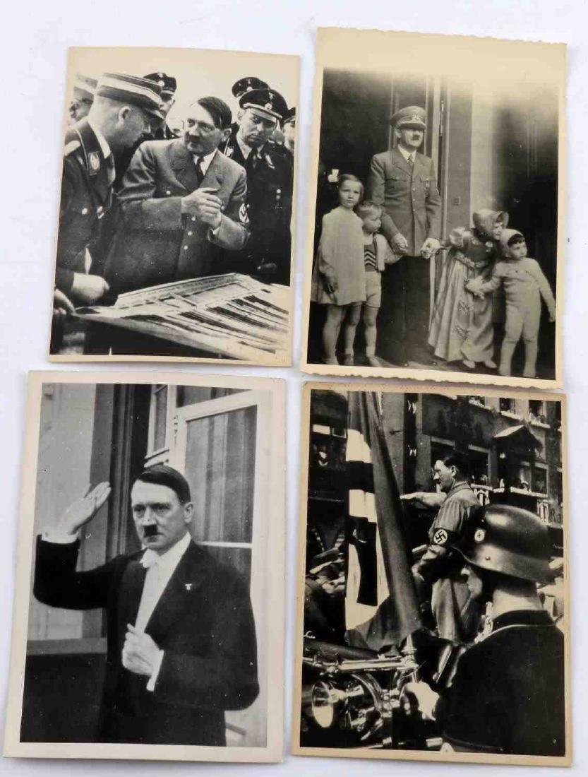 GERMAN WWII THIRD REICH ADOLPH HITLER PHOTO LOT - 2