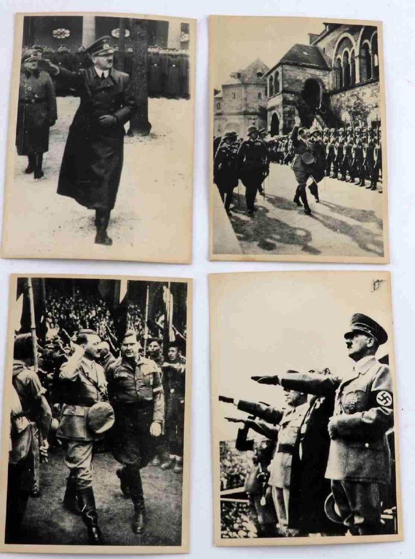GERMAN WWII THIRD REICH ADOLPH HITLER PHOTO LOT - 3