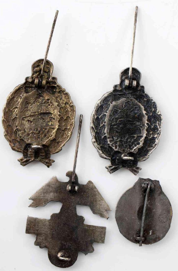 GERMAN IMPERIAL WWII MILITARY BADGE LOT - 2