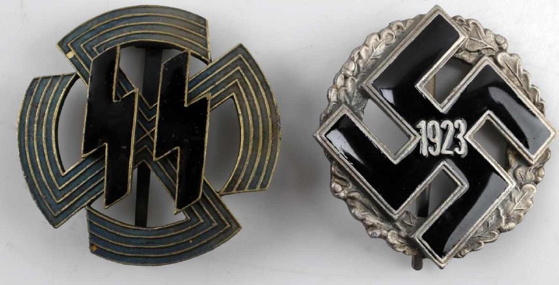 GERMAN WWII THIRD REICH ENAMELED BADGE SET