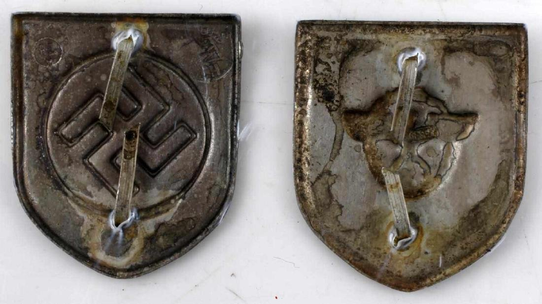 WWII GERMAN THIRD REICH CAP BADGE LOT OF EIGHT - 5