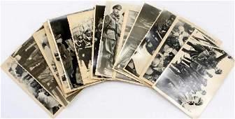 WWII GERMAN THIRD REICH HIMMLER PHOTO LOT OF 14