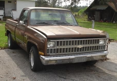 1982 SHORT BED CHEVY C 10 PROJECT TRUCK