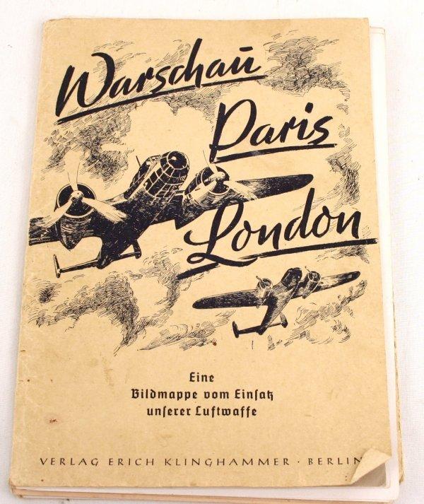 WWII WARSAW PARIS LONDON GERMAN PROPAGANDA PHOTOS