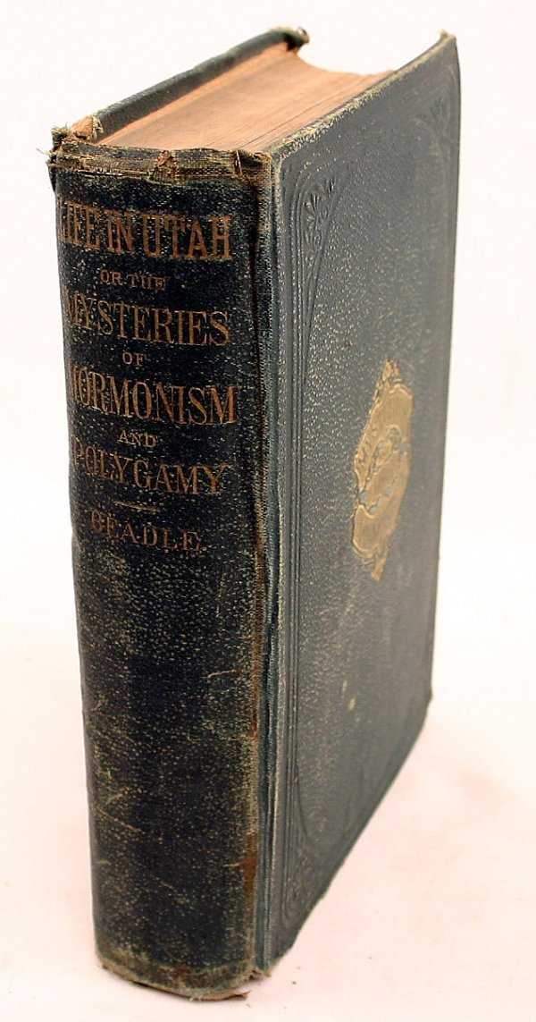 MYSTERIES AND CRIMES OF MORMONISM BOOK 1ST ED