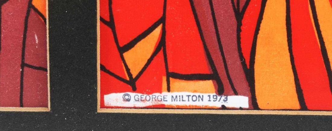 GEORGE MILTON ART NOUVEAU KING QUEEN JOKER PRINT - 3
