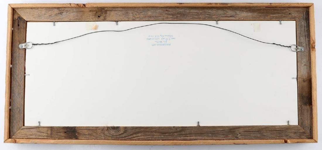 JOHN MCCLURE PRINT OF PYROGRAPHIC ART SOUTHWEST - 4