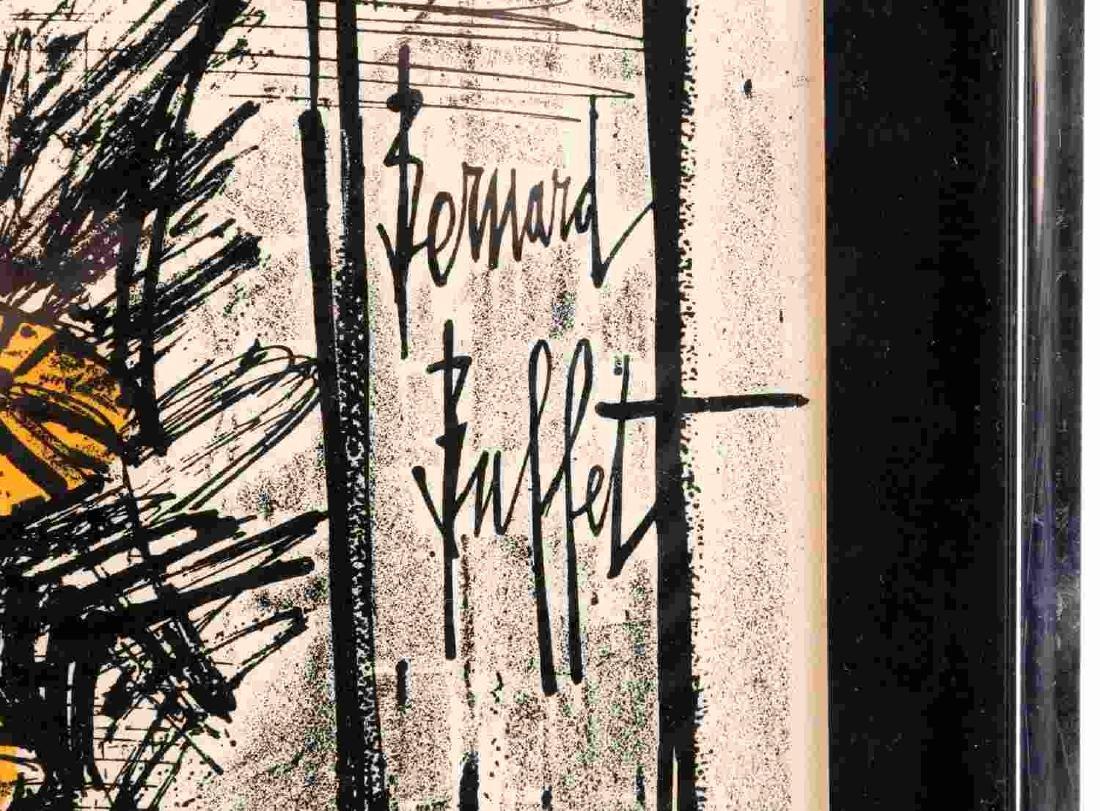 COLOR LITHOGRAPH AFTER BERNARD BUFFET FLOWERS - 2