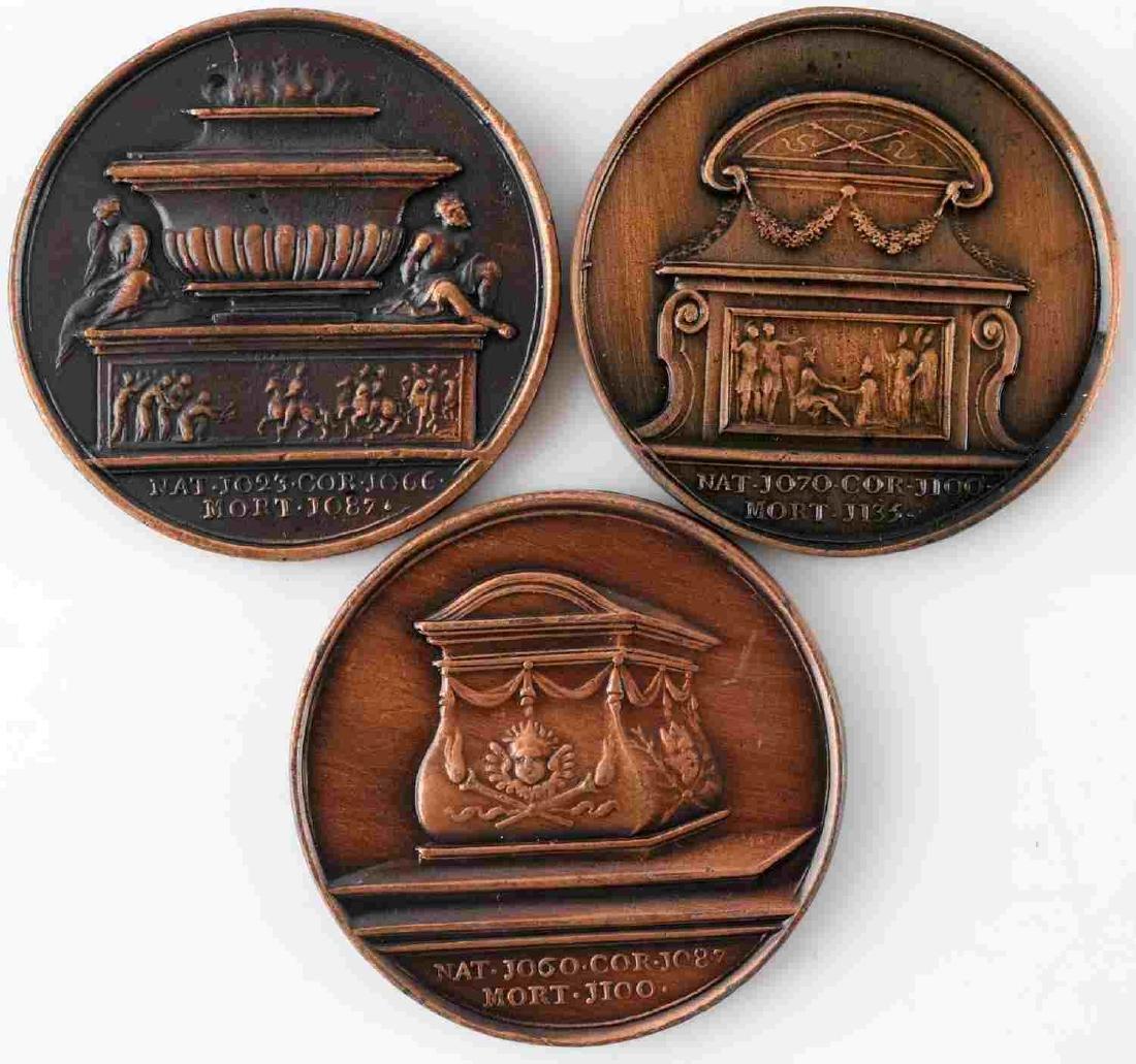 LOT OF 14 BRITISH COMMEMORATIVE MEDALS & COINS - 8