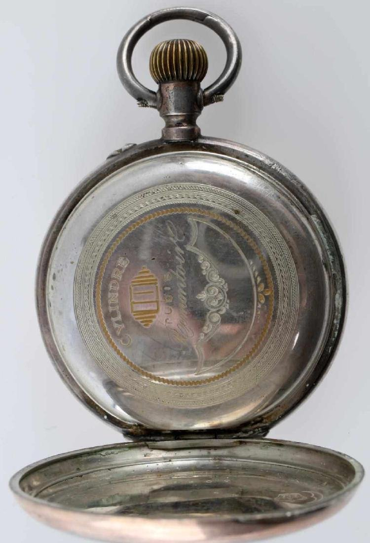 1908 WALTHAM POCKET WATCH & FRENCH POCKET WATCH - 5