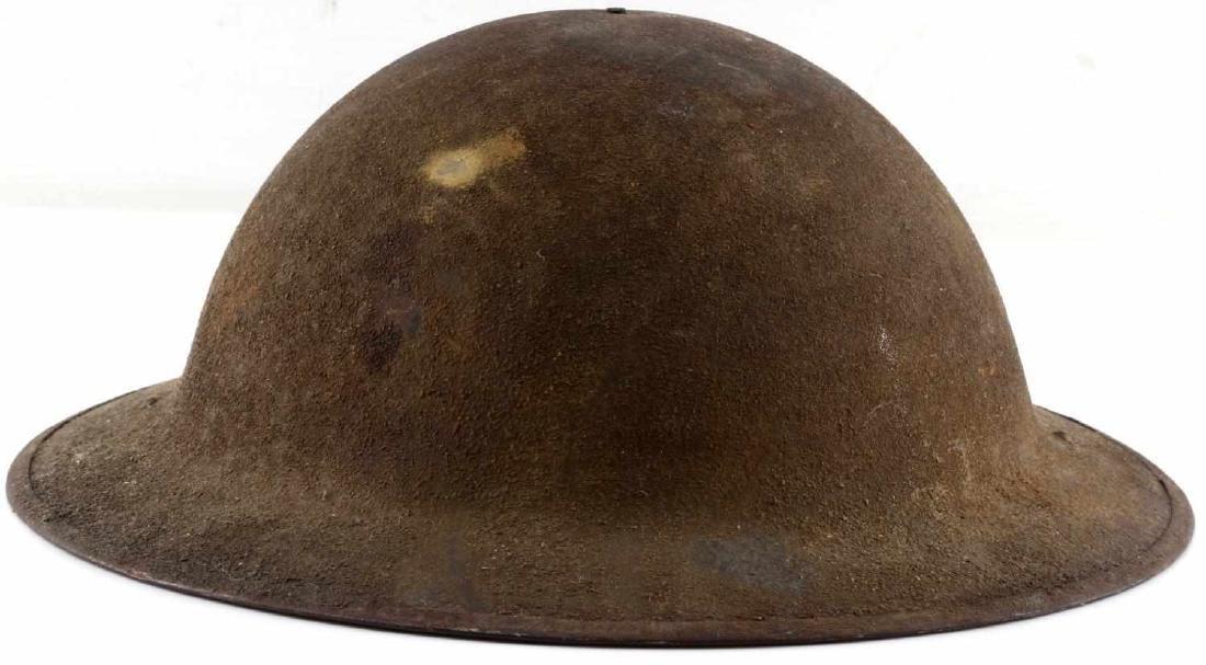 WWI AMERICAN P 17 BRODIE DOUGH BOY HELMET - 3