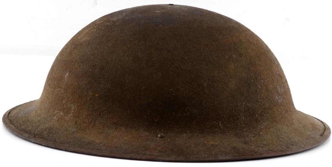WWI AMERICAN P 17 BRODIE DOUGH BOY HELMET - 4
