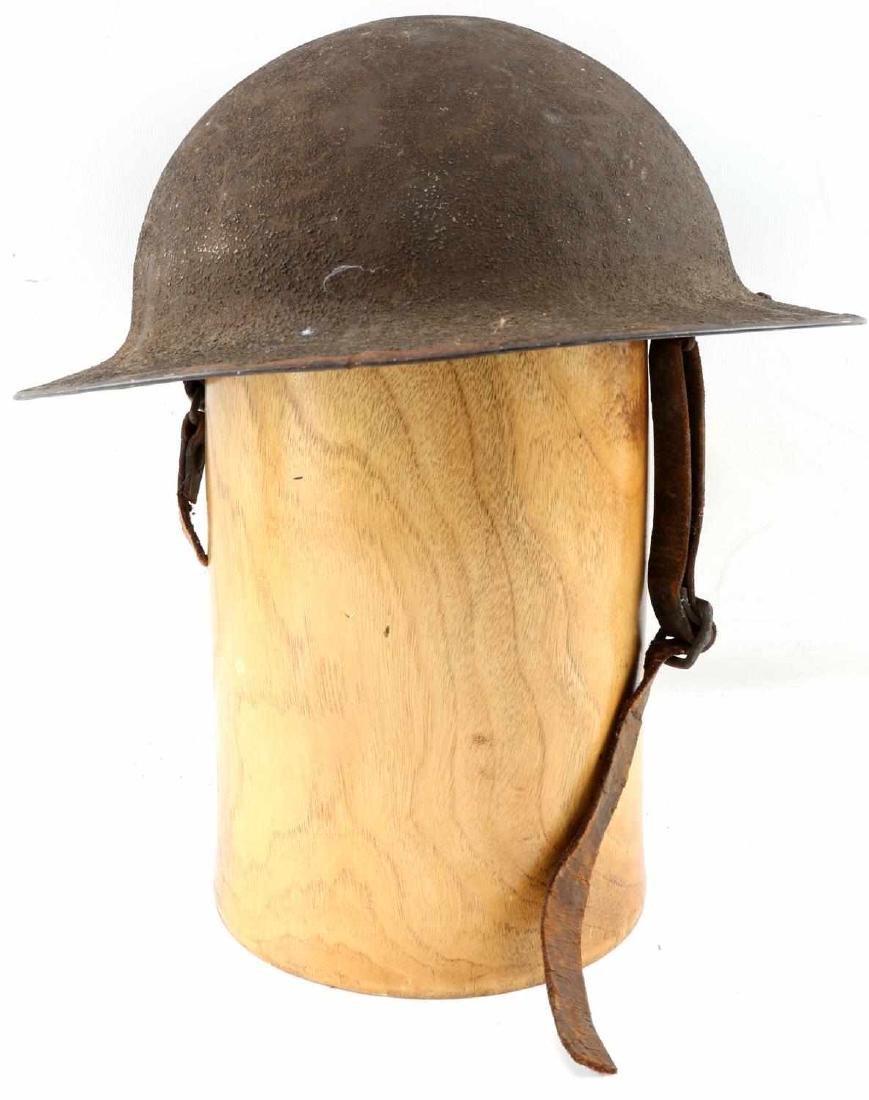WWI AMERICAN P 17 BRODIE AEF DOUGH BOY HELMET
