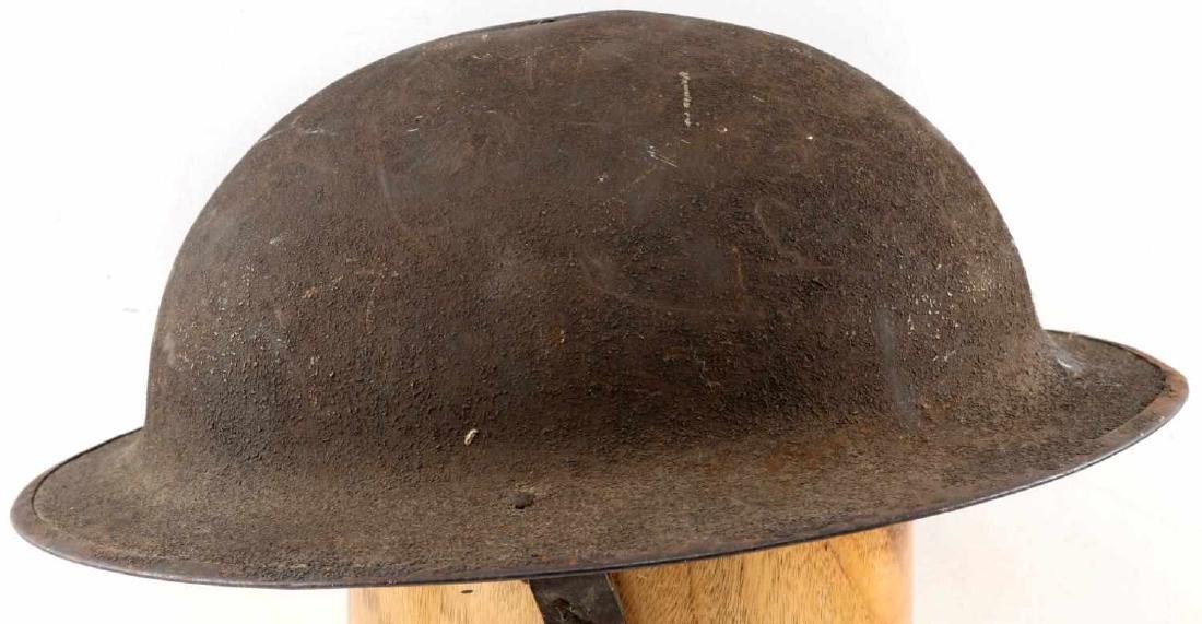 WWI AMERICAN P 17 BRODIE AEF DOUGH BOY HELMET - 3