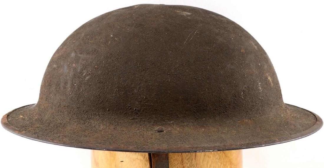 WWI AMERICAN P 17 BRODIE AEF DOUGH BOY HELMET - 5