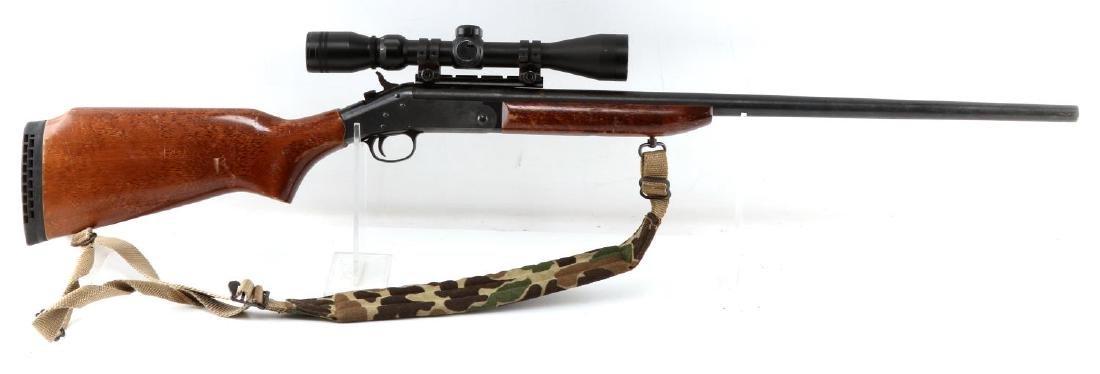 NEW ENGLAND ARMS SINGLE SHOT RIFLE W SCOPE .25 06