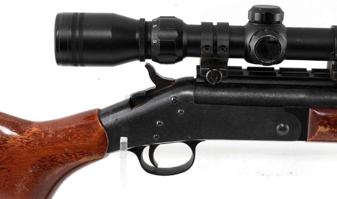 NEW ENGLAND ARMS SINGLE SHOT RIFLE W SCOPE .25 06 - 2